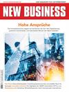 Cover: NEW BUSINESS - NR. 3, APRIL 2019