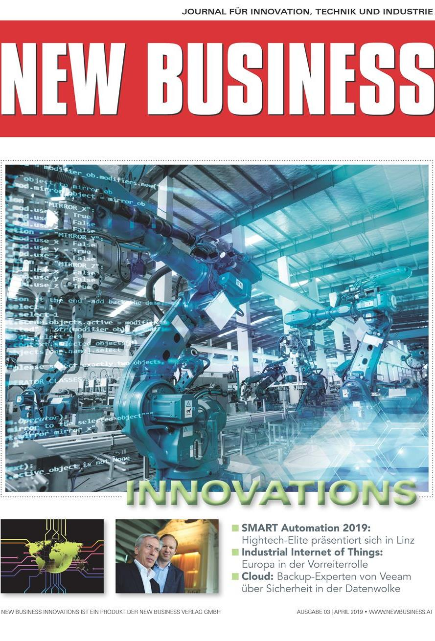 Cover: NEW BUSINESS Innovations - NR. 03, APRIL 2019