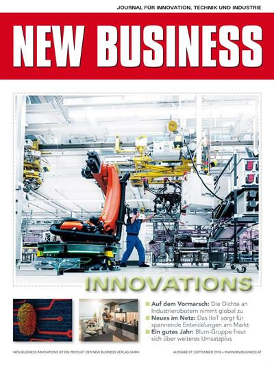 Cover: NEW BUSINESS Innovations - NR. 07, SEPTEMBER 2019