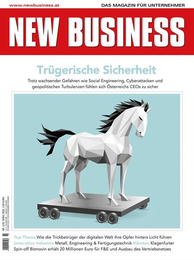 Cover: NEW BUSINESS - NR. 2, MÄRZ 2020