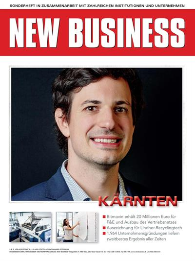 Cover: NEW BUSINESS Bundeslandspecial - KÄRNTEN 2020