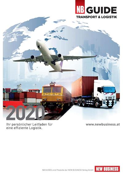 Cover: NEW BUSINESS Guides - TRANSPORT- & LOGISTIK GUIDE 2020